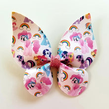 Load image into Gallery viewer, My Little Pony Rainbow Butterfly Hairbow