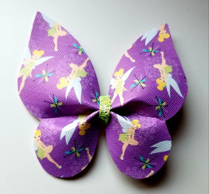 Tinker Bell Butterfly Hairbow