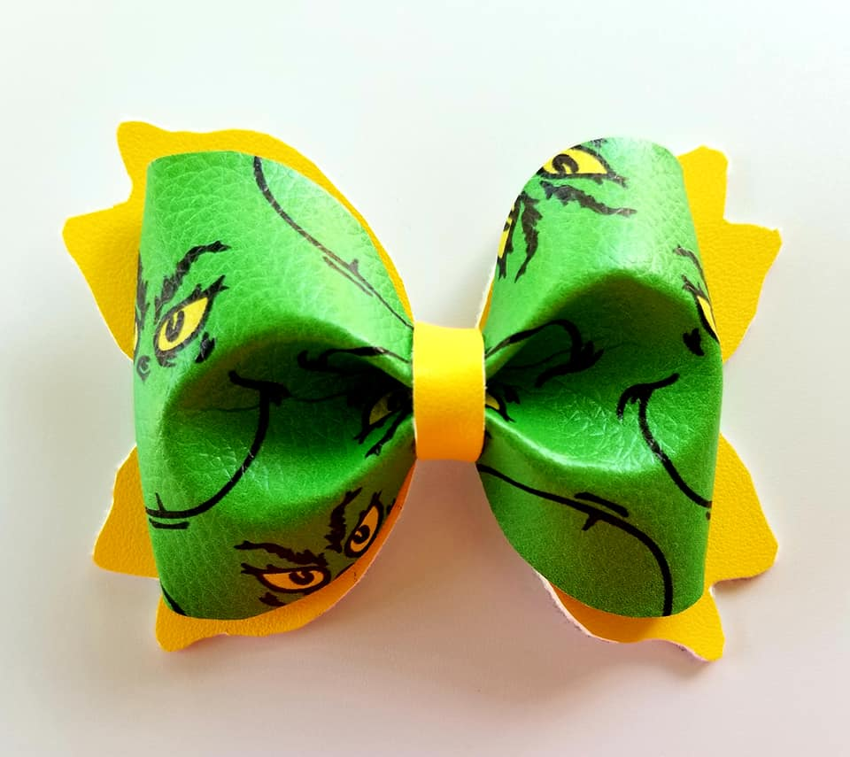 The Grinch Hairbow