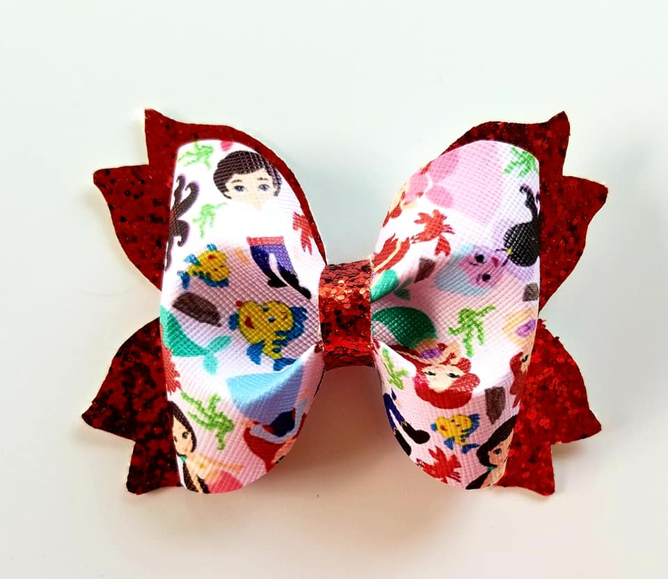 The Little Mermaid Hairbow