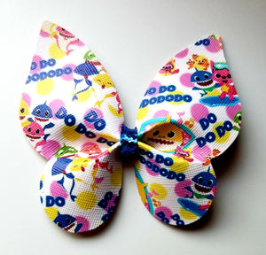 Baby Shark DoDoDo Butterfly Hairbow