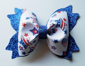 4th of July Hairbow