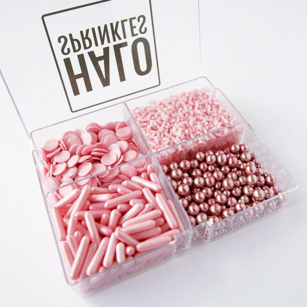 Halo Sprinkles Pick N Mix - Pinks 240g