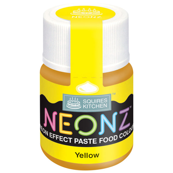 NEONZ Paste Colours - Yellow