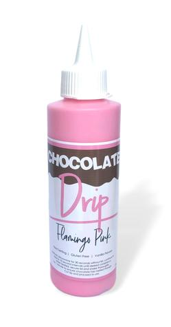 Chocolate Drip - Flamingo Pink
