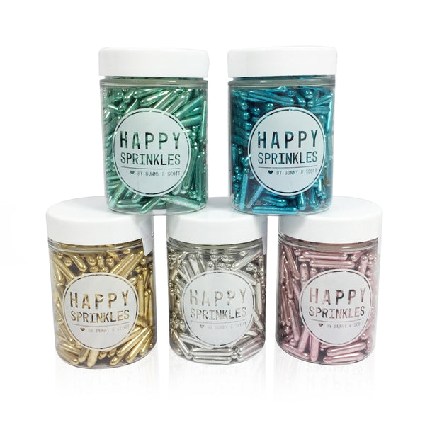 Happy Sprinkles - Metallic Rods