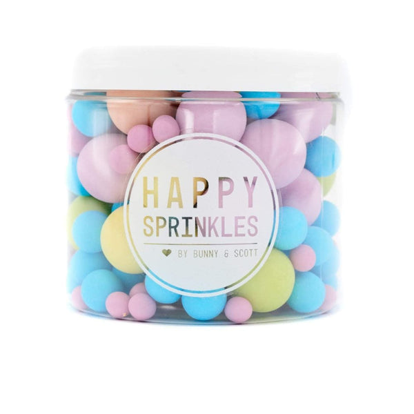 Happy Sprinkles - Choco Crunch Sprinkles - Bubblegum