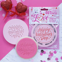 Sweet Stamp - Out Boss - Elegant Happy Valentines Day