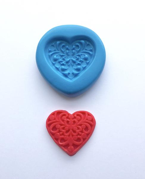 Fancy Heart Mould