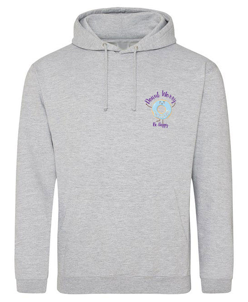 Donut Be Worry Be Happy - Hooded Sweatshirt