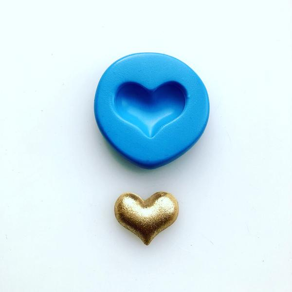 Mini Puff Heart Mould