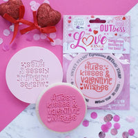Sweet Stamp - Out Boss - Hugs, Wishes and Valentines Kisses