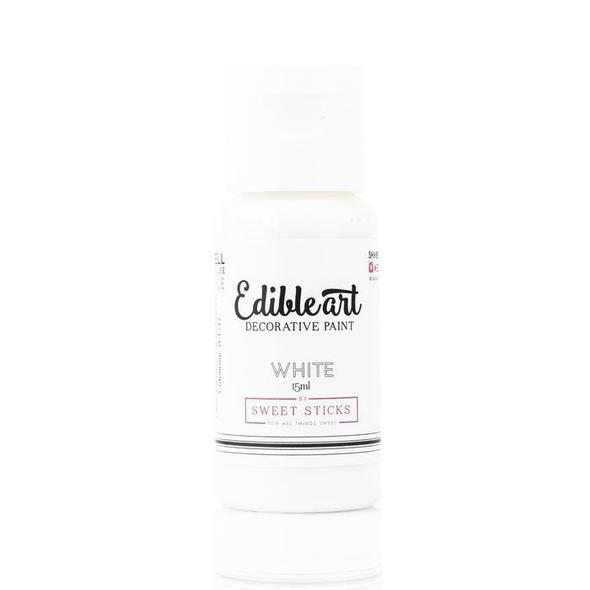 Sweet Sticks - Edible Paint - White (15ml)