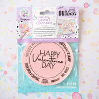 Sweet Stamp - Wish Upon a Cupcake - Happy Valentines Day