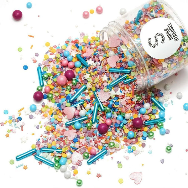 Super Streusel Confetti Blast - Sprinkle With Chocolate Balls - 180g