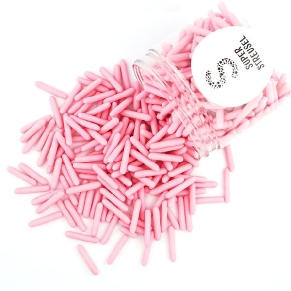 Super Streusel Rods Dull Pink - 90g