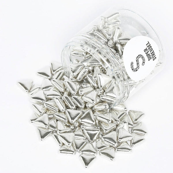 Super Streusel Silver Triangle Super Sprinkles - 90 g