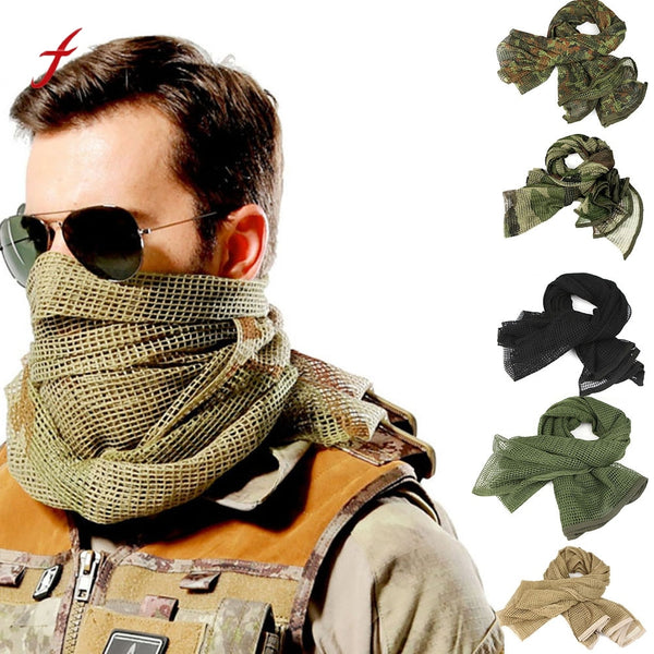 Military Tactical Cotton Scarf