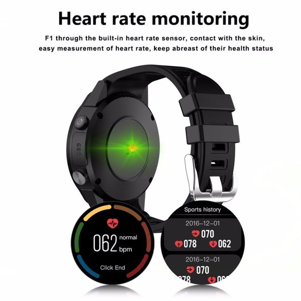 F1 Sport Smart Watch With GPS