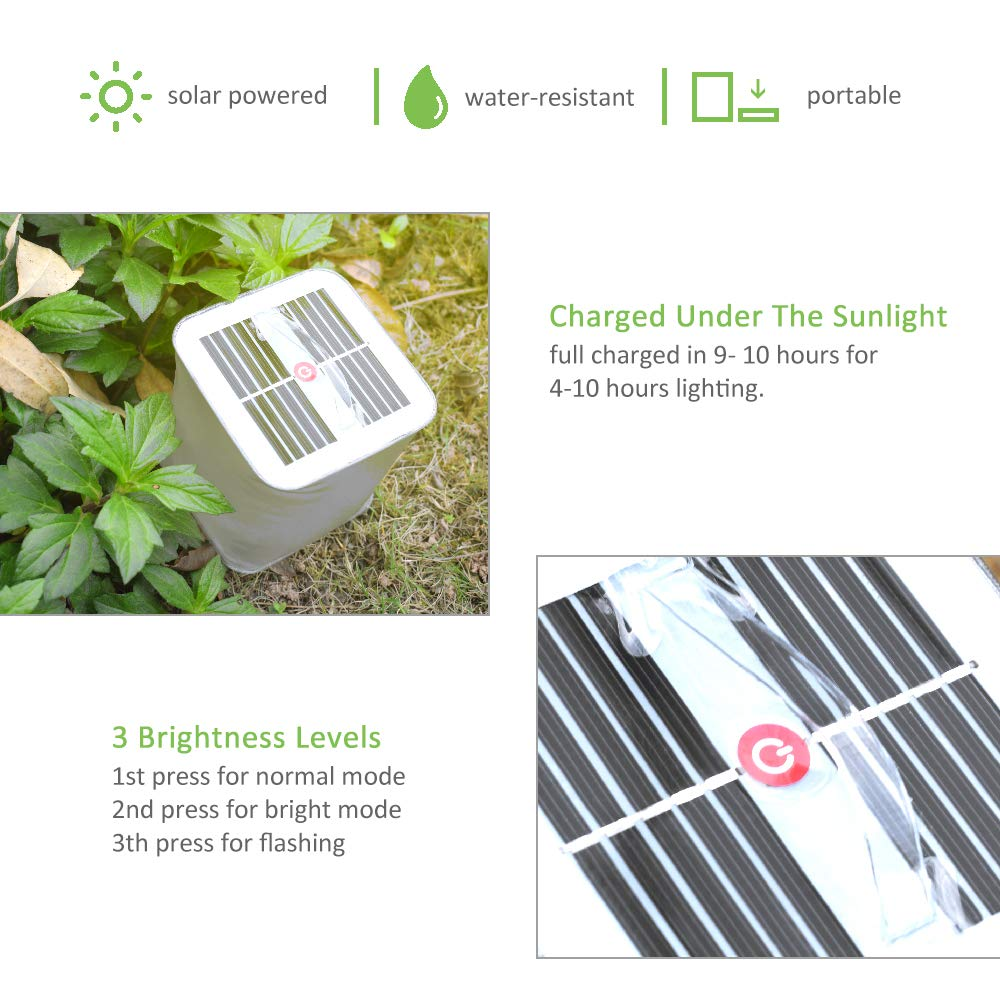 Solar Rechargeable Tent Light