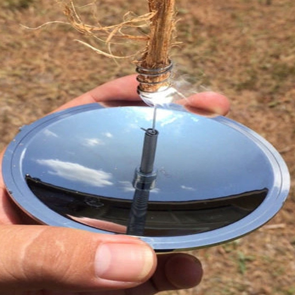 Solar Camping Fire Ignition