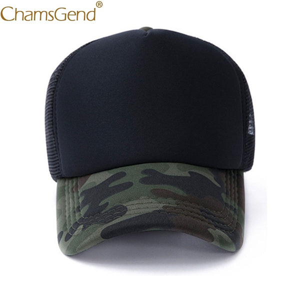 Camouflage Breathable Mesh Cap