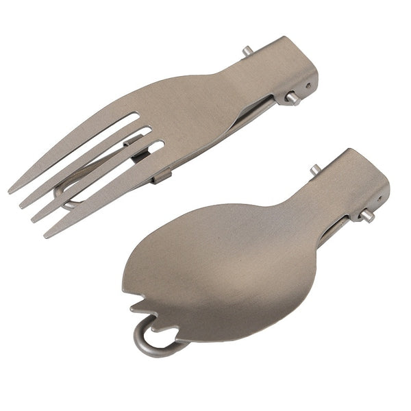 Portable Titanium Flatware
