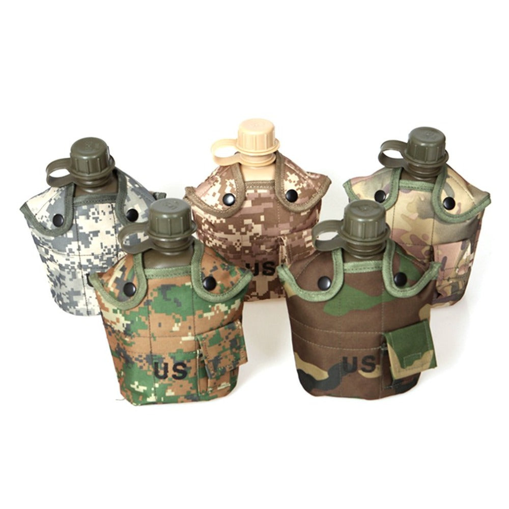 Outdoor Water Bottle Camouflage