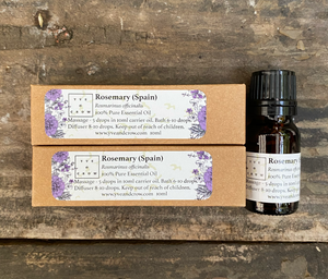 Rosemary (Spain) Essential Oil 10ml