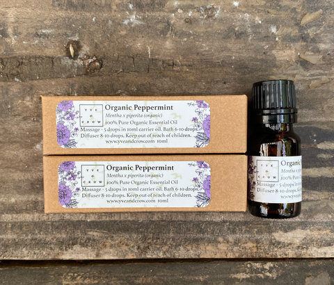 Organic Peppermint Essential Oil 10ml