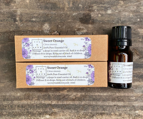 Sweet Orange Essential Oil 10ml