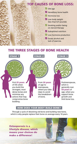3 Stages of Bone Health
