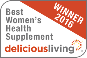 Delicious Living Best Women's Health Supplement Winner 2016