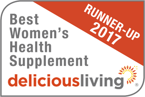 Delicious Living Best Women's Health Supplement Runner Up 2017
