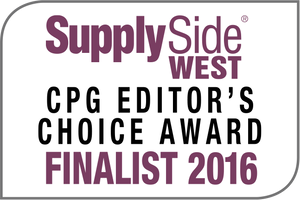Supply Side West CPG Editors Choice Award Finalist 2016