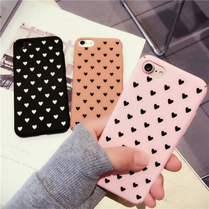 Sweet Heart Pattern Phone Protection Case