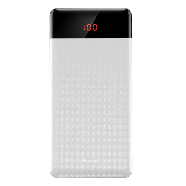 Dual USB LCD Powerbank