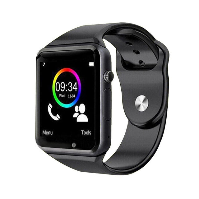 2019 New Smart Watch Clock Sync Notifier Support SIM TF Card Connectivity Apple iphone Android Phone Women Men Smartwatch GT08