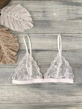 Load image into Gallery viewer, Azalea bralette | WHITE