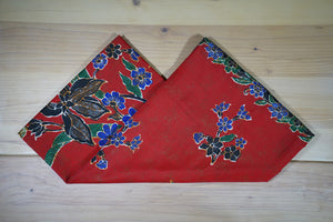 Batik Malong - Leaves and Flowers