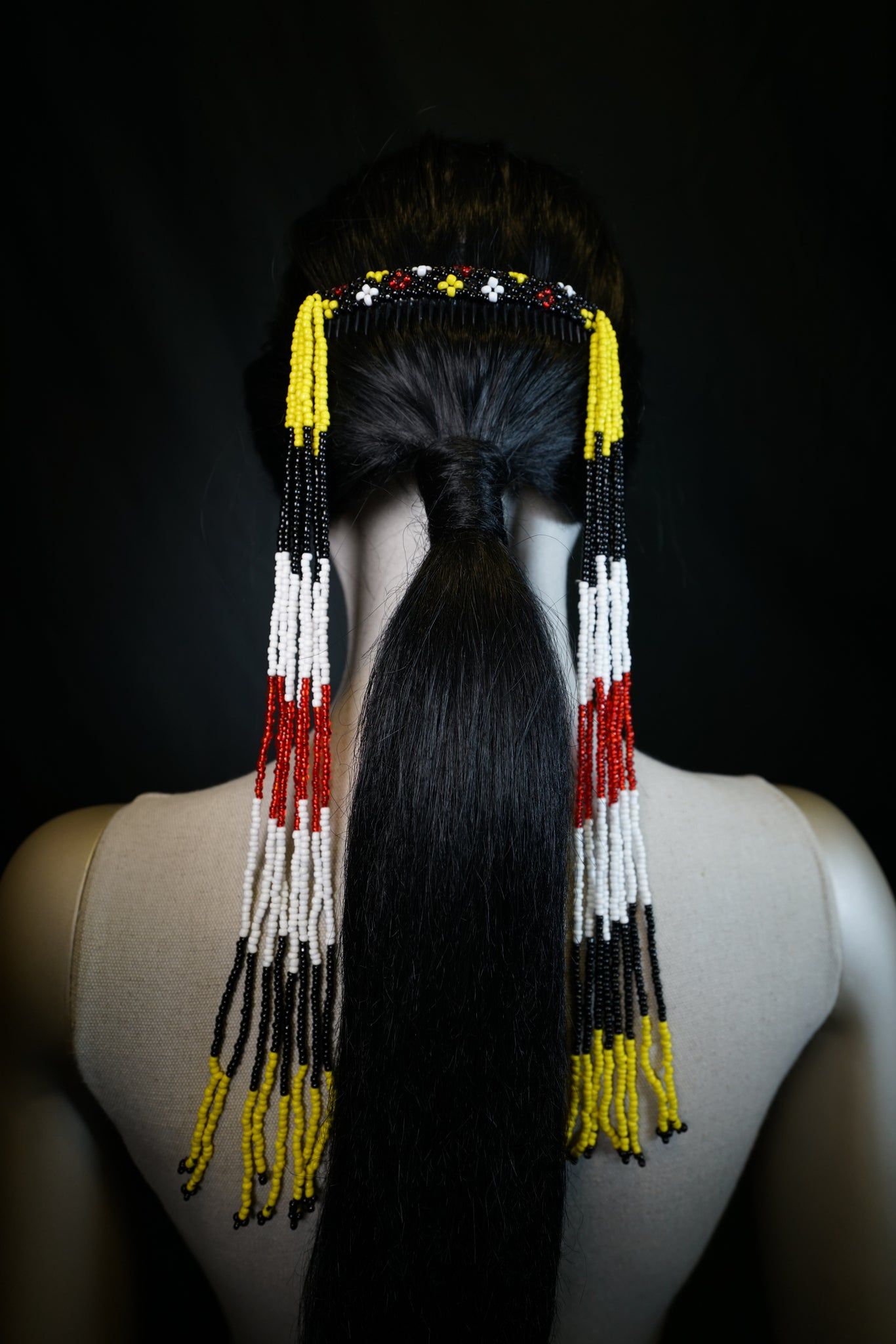 T'boli Beaded Haircomb