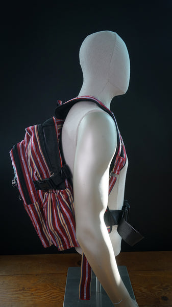 Sagada Woven Backpack with Laptop Pocket