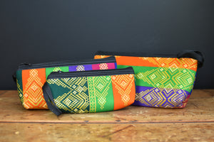 Batik Makeup Bag/Clutch