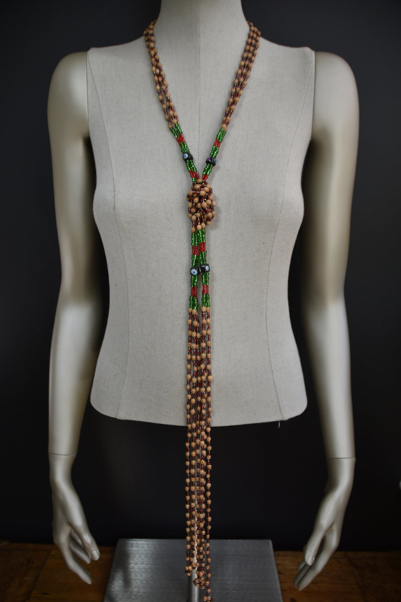 T'boli Wooden Beaded Necklace