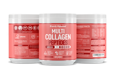 NEW: Multi Collagen Peptides for Health & Beauty Rejuvenation