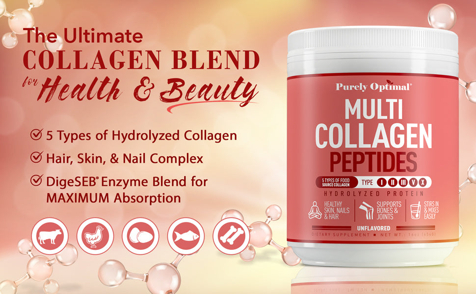 Multi Collagen Peptides Powder