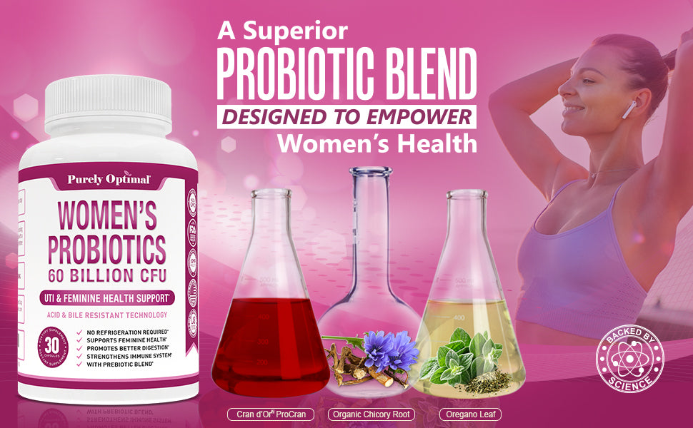 purely optimal women's probiotics