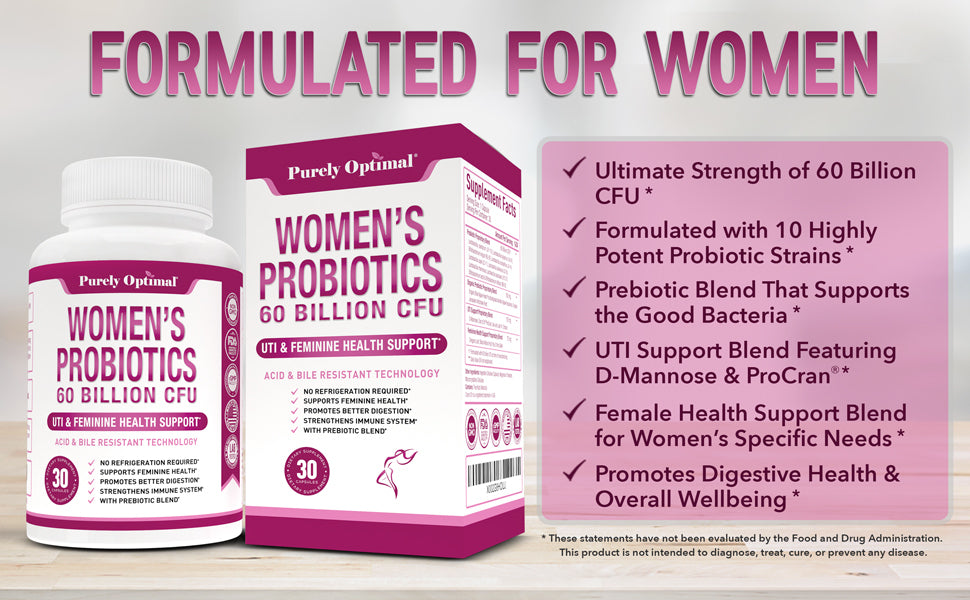women's probiotics benefits