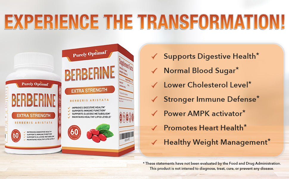 berberine supplement benefits