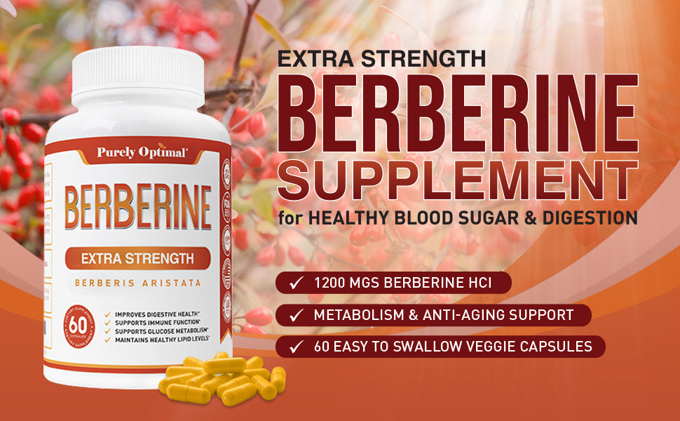 purely optimal berberine supplement